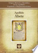 libro Apellido Abete
