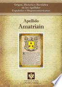libro Apellido Amatriaín
