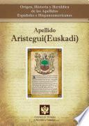 libro Apellido Arístegui (euskadi)