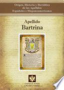 libro Apellido Bartrina