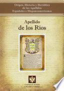 libro Apellido De Los Ríos