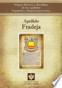 libro Apellido Fradeja