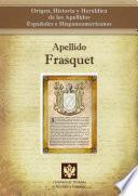 libro Apellido Frasquet