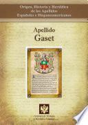 libro Apellido Gaset