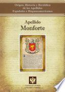 libro Apellido Monforte