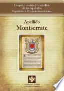 libro Apellido Montserrate