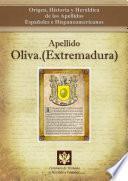 libro Apellido Oliva.(extremadura)