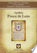 libro Apellido Ponce De León