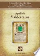 libro Apellido Valderrama