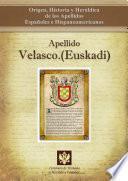 libro Apellido Velasco.(euskadi)