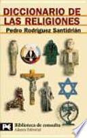 libro Diccionario De Las Religiones