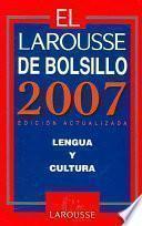 libro El Larousse De Bolsillo 2007