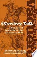libro Vocabulario Vaquero/cowboy Talk