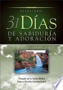 libro 31 Dias De Sabiduria Y Adoracion