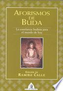libro Aforismos De Buda