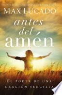 libro Antes Del Amén
