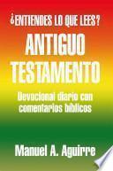 libro Antiguo Testamento