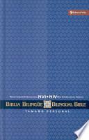 libro Biblia Bilingue Pr Nvi/niv Tamano Personal