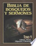 libro Biblia De Bosquejos Y Sermones Rv 1960 Galatas, Efesios, Filipenses, Colosenses