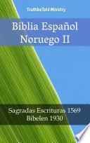 libro Biblia Español Noruego Ii