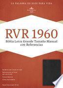 libro Biblia Letra Grande Tamano Manual Con Referencias Rvr 1960