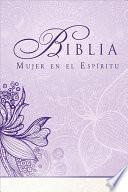 libro Biblia Mujer En El Espiritu Rvr 1960