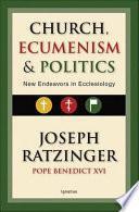 libro Church, Ecumenism, And Politics
