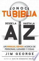 libro Conoce Tu Biblia Desde La A Hasta La Z