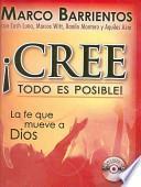 libro Cree Todo Es Posible