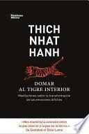 libro Domar Al Tigre Interior