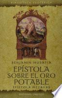 libro Epistola Sobre El Oro Potable: Epistola Mezahab = Epistle On Potable Gold