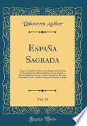 libro España Sagrada, Vol. 14