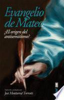 libro Evangelio De Mateo