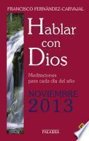 libro Hablar Con Dios   Noviembre 2013