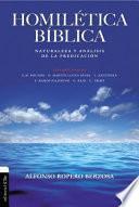 libro Homilética Bíblica