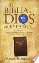 libro La Biblia De Dios En Español