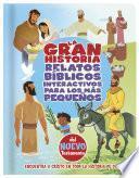 libro La Gran Historia, Relatos Bíblicos Para Los Más Pequeños, Del Nuevo Testamento