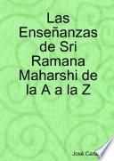 libro Las Enseñanzas De Sri Ramana Maharshi De La A A La Z