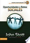 libro Oportunidades Y Retos Sociales