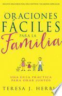 libro Oraciones Fáciles Para La Familia
