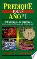 libro Predique Por Un Año #1
