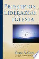libro Principios Del Liderazgo De La Iglesia