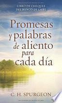 libro Promesas Y Palabras De Aliento Para Cada Dia