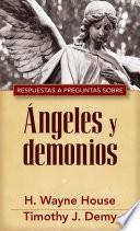 libro Respuestas A Preguntas Sobre Angeles Y Demonios