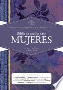 libro Rvr 1960 Biblia De Estudio Para Mujeres, Tapa Dura