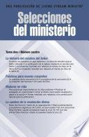 libro Selecciones Del Ministerio, T. 2, Núm. 4