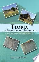libro Teoria Del Pensamiento Universal