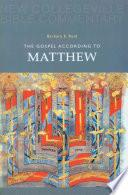 libro The Gospel According To Matthew