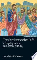 libro Tres Lecciones Sobre La Fe