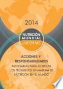 libro Informe De La Nutrición Mundial 2014